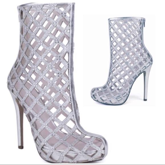 40290f9da05e2c Celeste Women s sexy evening sparkling booties